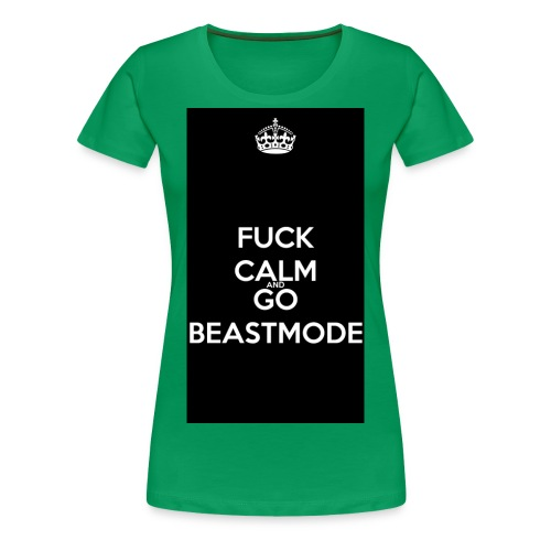 Go Beast-Mode - Women's Premium T-Shirt