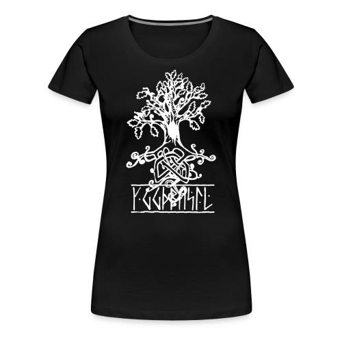 yggdrasil -the norse tree of life - Women's Premium T-Shirt
