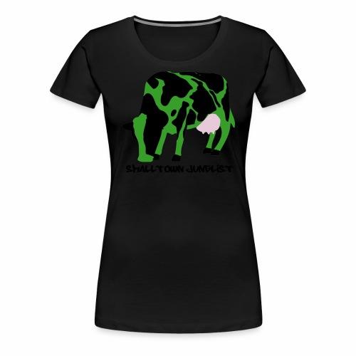 smalltownjunglist - Frauen Premium T-Shirt