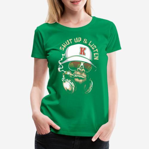 Gorillamusik - Frauen Premium T-Shirt