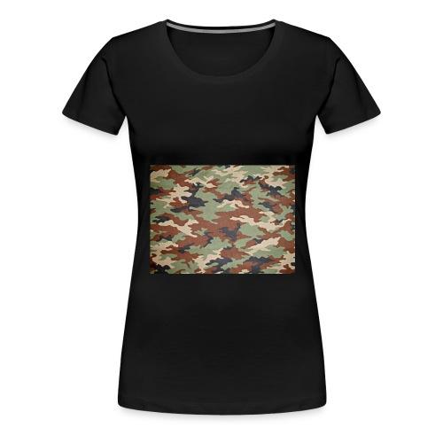 camoprint jpg - Vrouwen Premium T-shirt