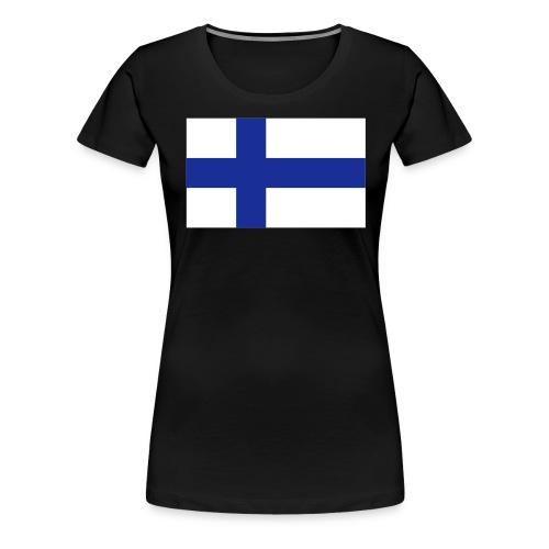 99% Suomi-painos - Naisten premium t-paita