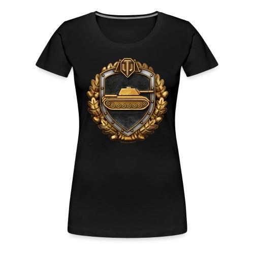 World of Tanks Medals Logo - Women's Premium T-Shirt