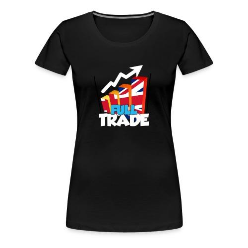 FULL TRADE png - Women's Premium T-Shirt