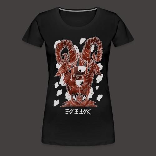 Belier Négutif - T-shirt Premium Femme