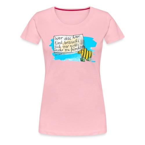 Janosch Tigerente Wer Das Liest Spruch - Frauen Premium T-Shirt