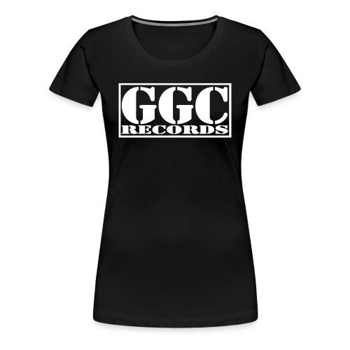 GGC-Records Label-Stempel - Frauen Premium T-Shirt