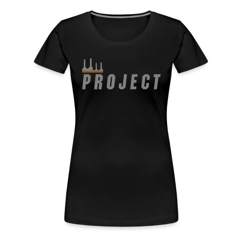The Project, silver - Women's Premium T-Shirt