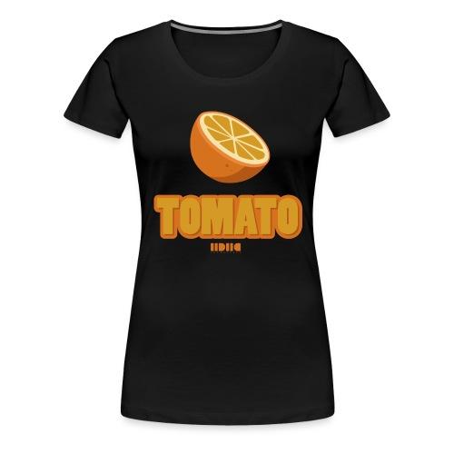 Tomato, tomato - Premium-T-shirt dam