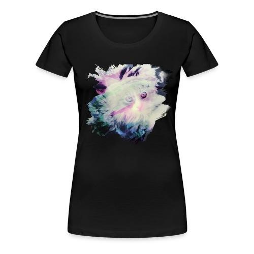Cat spirit - T-shirt Premium Femme