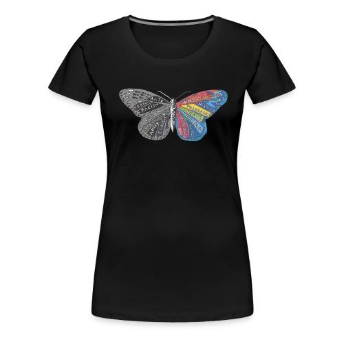 butterfly effect - Frauen Premium T-Shirt
