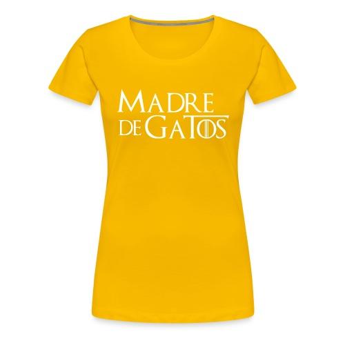 0 texto esp w png - Camiseta premium mujer