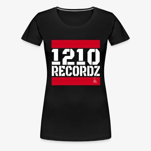 1210 Recordz Tank Top W - Frauen Premium T-Shirt