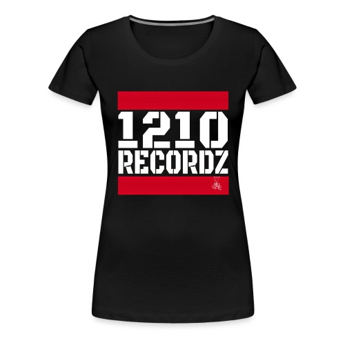 1210 Recordz Tank Top W - Frauen Premium T-Shirt