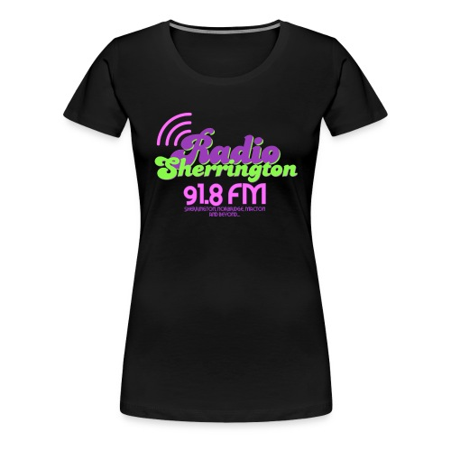 Radio Sherrington 1989 - Women's Premium T-Shirt