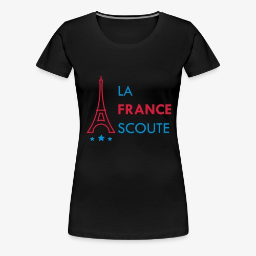 Eiffel Scout - T-shirt Premium Femme
