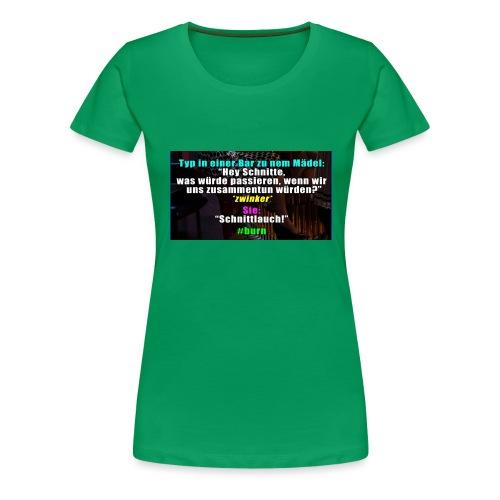 SchnitLauch - Frauen Premium T-Shirt