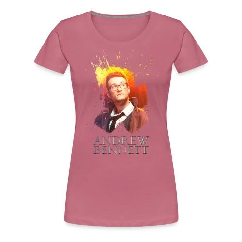 Andrew Bennett - T-shirt Premium Femme