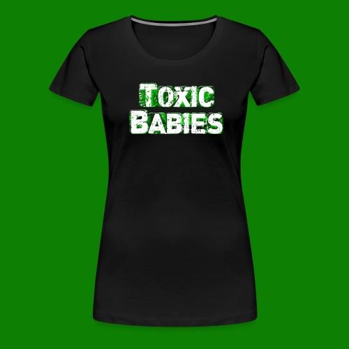 logo toxic grand - T-shirt Premium Femme