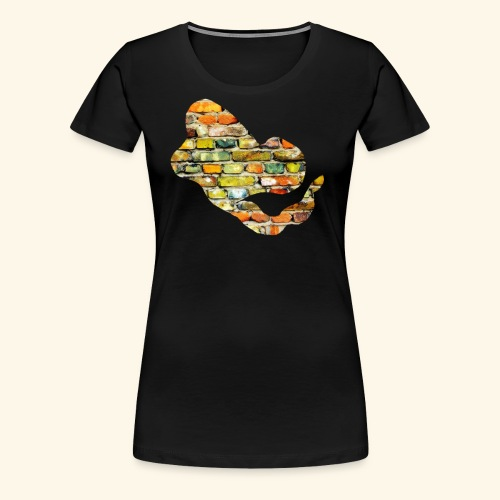 Stone T Shirt G - Frauen Premium T-Shirt