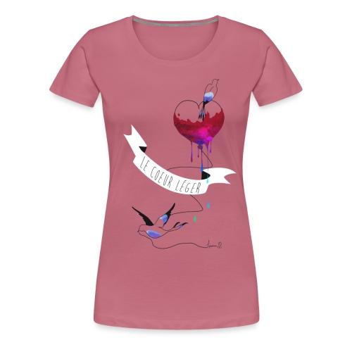 --LeCoeurLeger - T-shirt Premium Femme