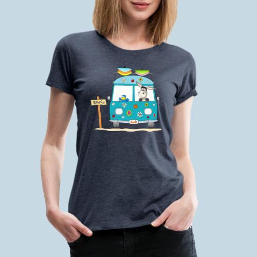 Wellenreiter Surfbus - Frauen Premium T-Shirt