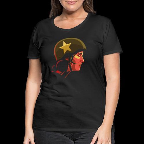 Roller derby girl - #Snowblack50 - T-shirt Premium Femme