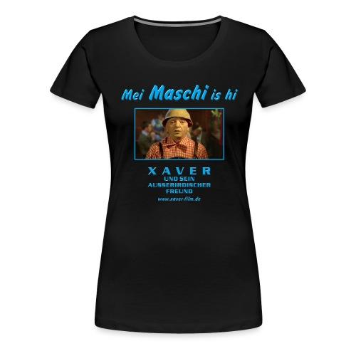 mei maschi is hi - Frauen Premium T-Shirt