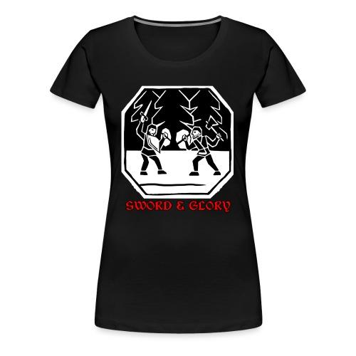 Taistelu - Naisten premium t-paita
