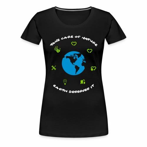 0 déchet - T-shirt Premium Femme