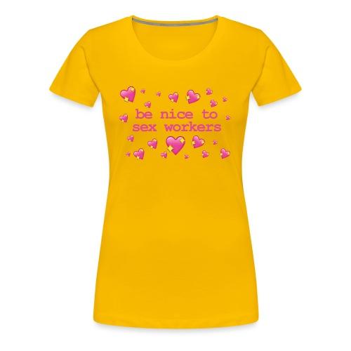 benicetosexworkers - Women's Premium T-Shirt