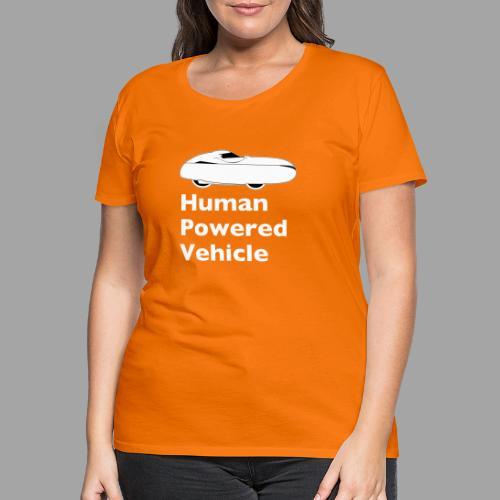 Quest Human Powered Vehicle 2 white - Naisten premium t-paita