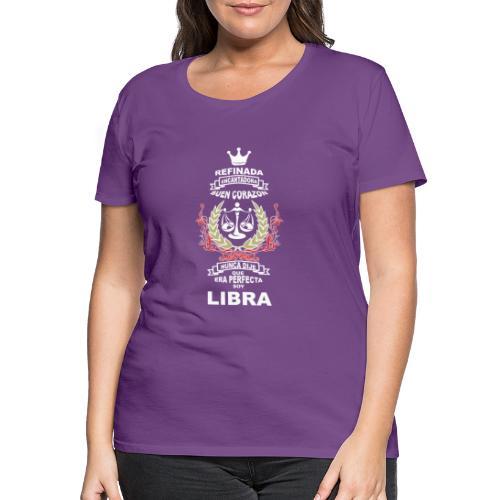 LIBRA - Camiseta premium mujer