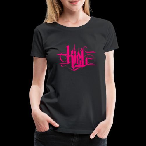 kielcallylogopink - Frauen Premium T-Shirt