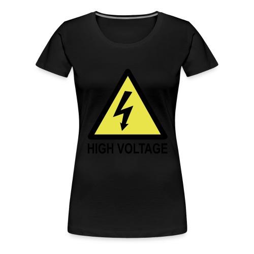 High Voltage - Women's Premium T-Shirt