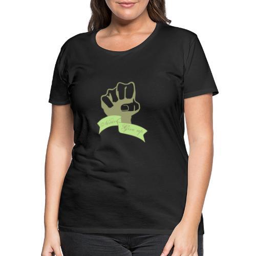 nevergiveup - T-shirt Premium Femme