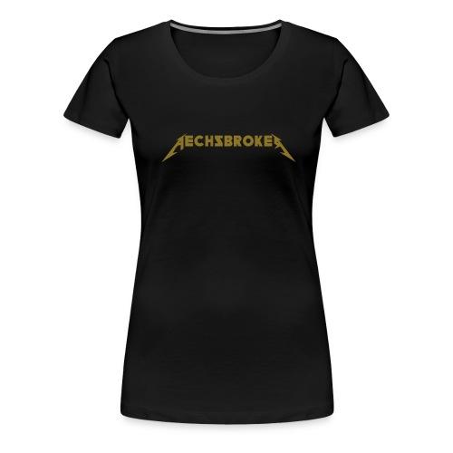 vektor aechsbrokerklein - Frauen Premium T-Shirt