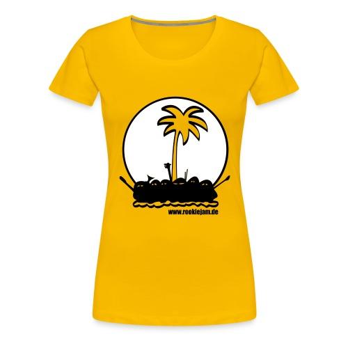 tslogogelb v2 - Frauen Premium T-Shirt