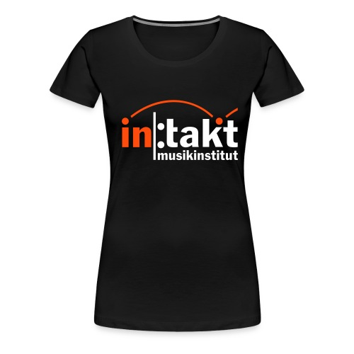 intakt Logo invert - Frauen Premium T-Shirt