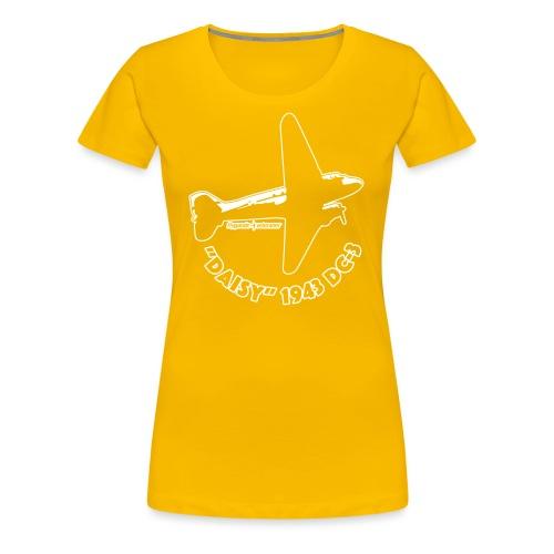 Daisy Flyover 2 - Premium-T-shirt dam