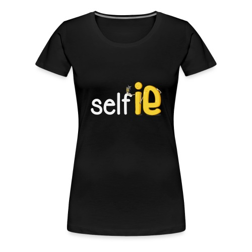 SELF-SELFIE - Women's Premium T-Shirt