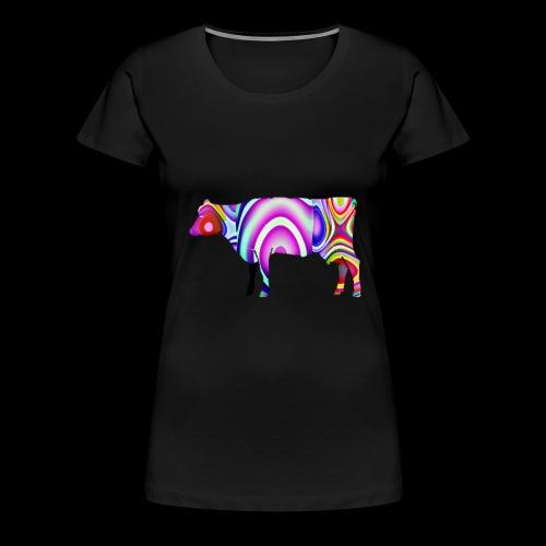 La vache - T-shirt Premium Femme