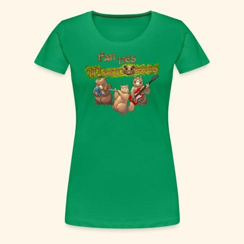 Tshirt fans - T-shirt Premium Femme