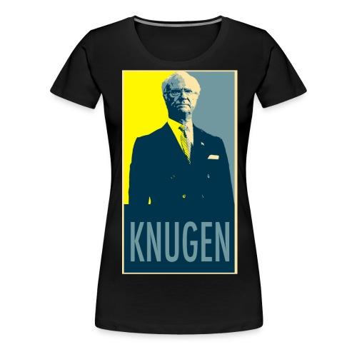 knugen - Premium-T-shirt dam