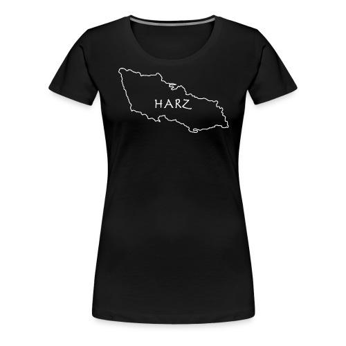 Harz hvidlining.. - Dame premium T-shirt