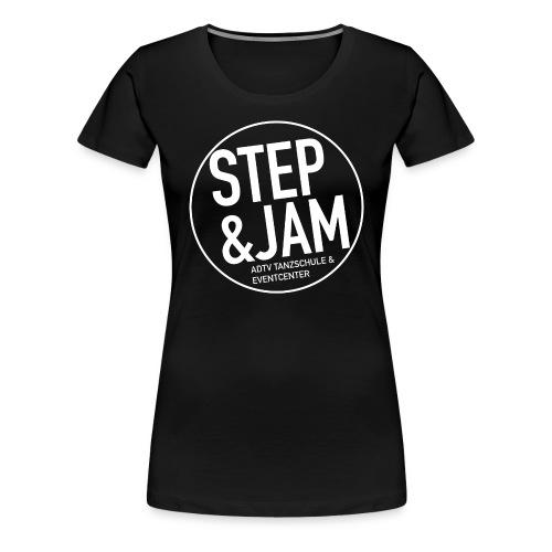 Logo 2021 WHITE - Frauen Premium T-Shirt