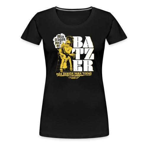 Batzer Drinks - Vrouwen Premium T-shirt