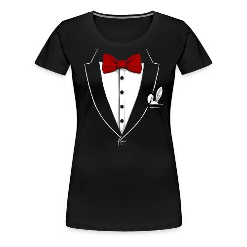 Tuxedo 4 - Frauen Premium T-Shirt