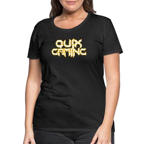 QuixGaming Simple Design - Dame premium T-shirt