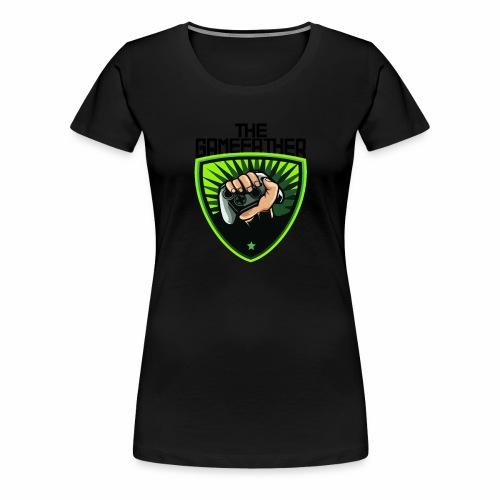 The Gamefather Zocken Gamer Fun Geschenk - Frauen Premium T-Shirt